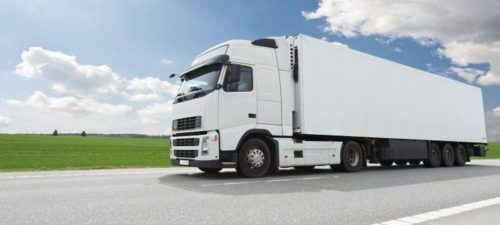 refrigerated truck image
